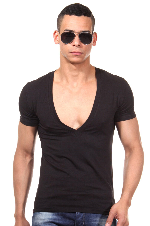 pretty nice 84487 359b4 DOREANSE T-Shirt V-Ausschnitt slim fit | OBOY.de