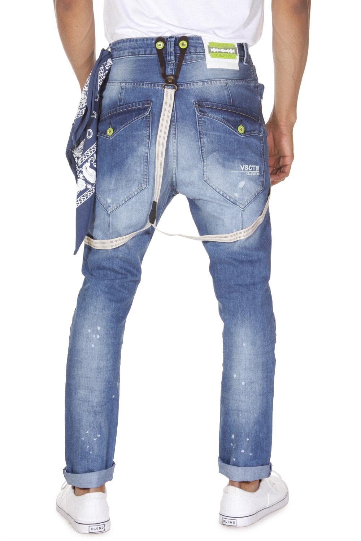 VSCT Jeans mit Hosenträgern |
