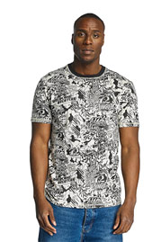ECKO UNLTD. Comic Allover T-Shirt Black auf oboy.de